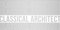 Gray Typographic Architect LinkedIn Banner Architecture