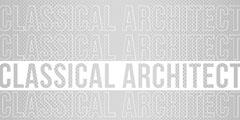 Gray Typographic Architect LinkedIn Banner Architecture