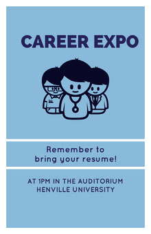 CAREER EXPO School Posters