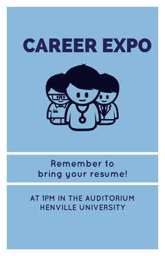 CAREER EXPO Back to School