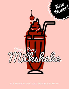 Milkshake Dessert