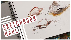 SKETCHBOOK<BR>HAUL YouTube Banner