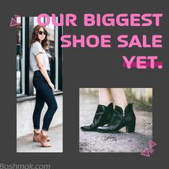 OUR BIGGEST <BR>SHOE SALE<BR>YET. Shoes