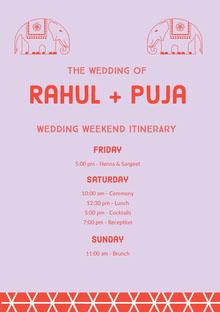 Rahul + Puja