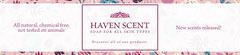 Pink Floral Soap Banner Promotion