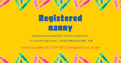 Yellow Nanny Facebook Post Service