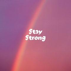 Pink and Purple Rainbow Encouraging Handwritten Quote Rainbow
