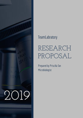 Violet and Black Research Proposal Offerta