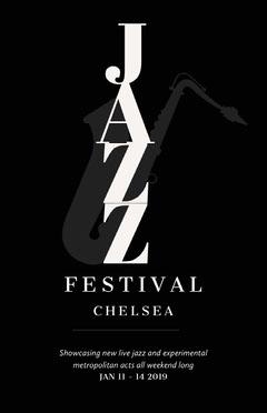 Jazz Festival Concert Poster Promo Jazz