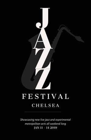 Jazz Festival Concert Poster Promo Concertposter