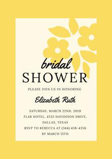 SHOWER  Invitación de boda