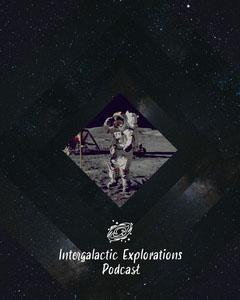 Space Intergalactic Explorations Podcast Instagram Portrait Galaxy