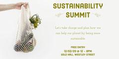 Sustainability Summit Eventbrite Banner Event Banner