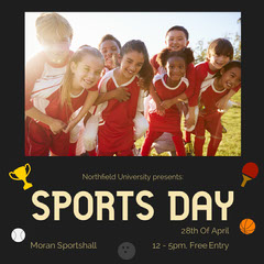 Sports Day Instagram Square Sports