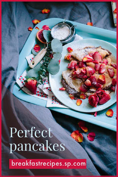 Blue Pancakes Food Recipes Pinterest Brunch