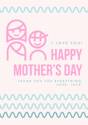 Happy<BR>Mother's Day Mother's Day Card