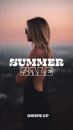 dark muted  Summer sale instagram story... Dress