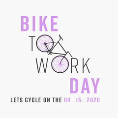 Bike To Work Day Instagram Square Sports