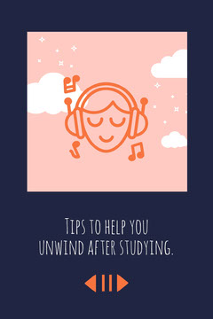 Navy Pink White Head In The Clouds Study Tips Pinterest  After School