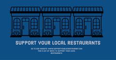 support local restaurant instagram landscape  Restaurants