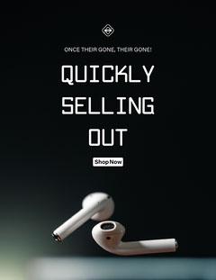 black white earphones technology digital newsletter letter Shopping
