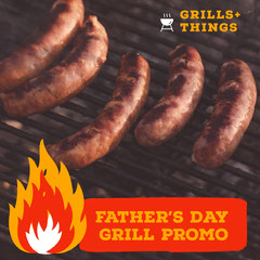 Father's Day Grill Promo Holiday