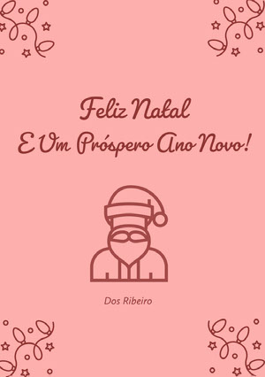 E Um Próspero Ano Novo! Christmas Greetings