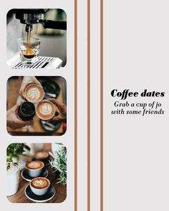 Coffee Dates Instagram Portrait Tea Time
