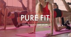 fitness company LinkedIn banner ad Exercises