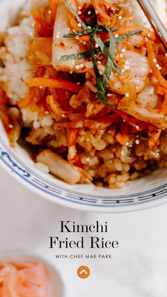 Kimchi <BR>Fried Rice Chef