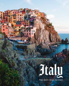 italy best cities to visit instagram portrait Portrait