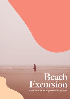 Beach Trip Flyer Beach