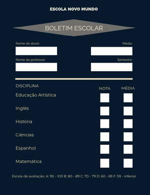 dark teal report cards  Fichamento