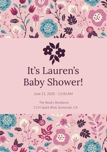 It's Lauren's Baby Shower!