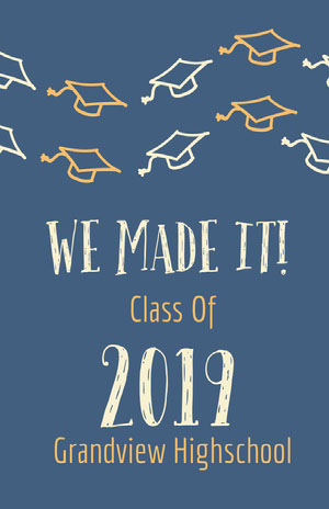 2019 Graduation Poster