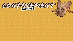 Brown Dog Lockdown Season  Zoom Background Fond d'écran d'ordinateur