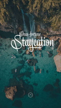 Open Water Staycation Ideas IG Story Ocean