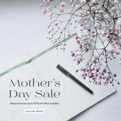 Mother's Day sale instagram  Purple