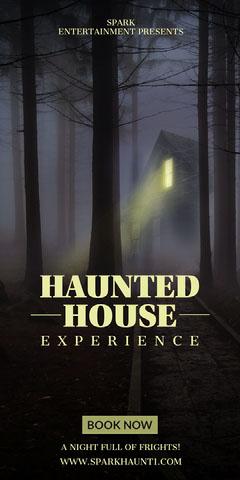 haunted house halloween webad Scary