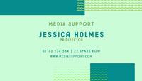 Jessica Holmes Biglietto da visita