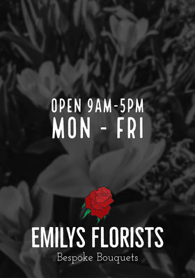 Emilys Florist Flyers Flyer