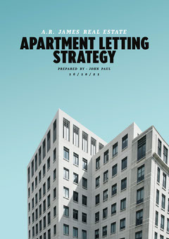 Blue Sky Apartment Letting Strategy A4 Architecture