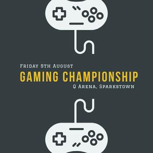 Gaming Championship Game-uitnodigingen