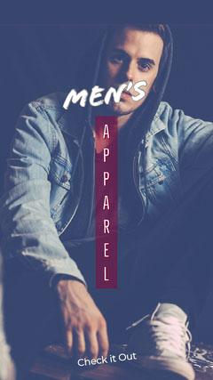 Men's Sale Flyer