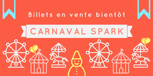 carnival banner ads Flyer publicitaire