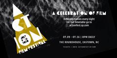 Yellow Black Film Festival Eventbrite Banner Movie Night Flyer