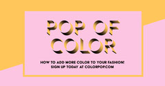 POP OF COLOR Educational Course