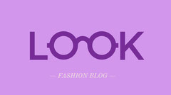 Pink and Purple Fashion Blog Graphic Purple