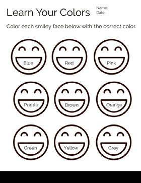 Learn Your Colors  Study Helpers