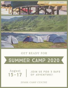 SUMMER CAMP 2020 Summer Camp Poster